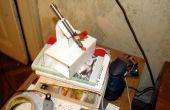 Micro láser Show con un mecanismo de lente de CD