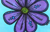 Flor dibujo