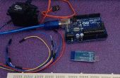 Arduino, MIT app inventor servo controlador de motor
