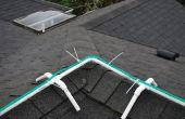 Marco para la instalación de luces de Navidad de la cuerda en el filo de techo