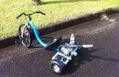 Triciclo motorizado deriva!!!!!!