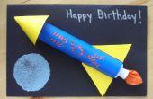 Tarjeta dinero oculto del cohete
