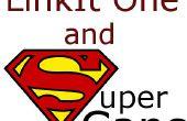 LinkIt uno y Super Caps