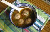 Pollo curry kofta (albóndigas de carne) (versión salsa)