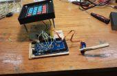 Bloqueo de contraseña de Arduino