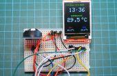 Reloj en tiempo Real de Arduino DS3231 con color TFT