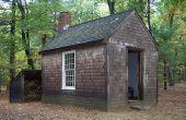 Cabaña de Thoreau fuera de la red de diseño bajo $1000