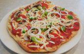 A la parrilla Pizza