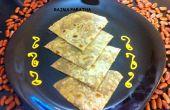 Pan plano de frijol