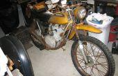 Resucitar una moto 38 años