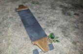 Longboard casero de roble