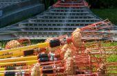 Bajo costo y fácil de hacer fruta cosecha poste