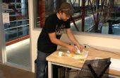RFID improvisado insignia cuchillo para cortar queso