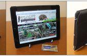 Hacer un soporte fabuloso iPad/tablet usando un soporte de la placa y Sugru! ¿
