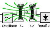 Inalámbrico de circuito de transferencia de energía eléctrica