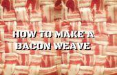 Cómo hacer un tejido de tocino