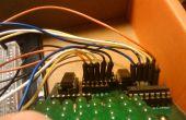 Matriz de LED Arduino con el Wii Nunchuck Control