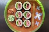 Quilled Sushi imán