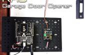 Abridor de puerta de garaje de Arduino RFID