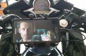 Cómo instalar un soporte de teléfono de RAM en una motocicleta