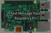 Texto-controlado frambuesa Pi