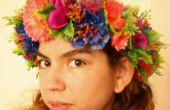Diademas de flores DIY