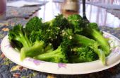 4 minutos al vapor brócoli
