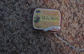 Lata pequeña de Altoids iPod Shuffle caso