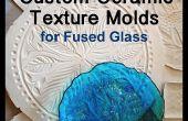 Medida textura cerámica moldes para vitrofusión