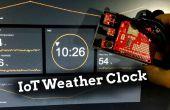 Reloj de tiempo de Arduino IoT
