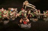 Cómo velocidad Ork pintura miniaturas