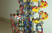 Proyecto de máquina de la bola de caída libre K'nex