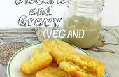 Galletas veganas de sexy (con salsa del país)