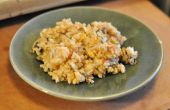 Arroz frito chino vegetariano