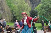 Hula hoops estilo británico - versión de producción en masa