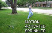 Mantenga indeseados visitantes con un movimiento activación por aspersión