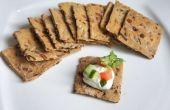 Galletas de trigo integral vegetariano