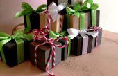 Regalo de Navidad mini cubos
