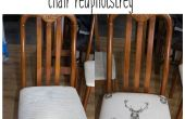 Rápido y sillón retapizado del asiento