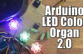 Arduino DIY LED Color órgano 2.0
