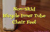 Pies de silla antideslizante de llanta reciclada