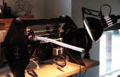 La impresora 3D de Lum: reducir módulo transportador y marco Infiniprinting