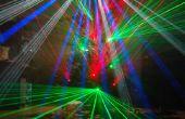 Árbol de Navidad del laser