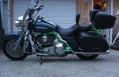 Reparación de cierre de alforja Harley Davidson Road King