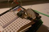 Sostenedor de batería de guerrilla para tu protoboard / proyectos de Arduino