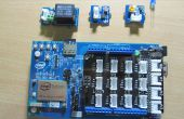 Domótica: Control de Base de relé Sensor de luz (Intel Edison)