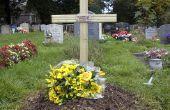Una cruz para marcar la tumba
