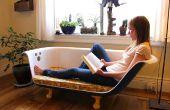 Bañera del Clawfoot bricolaje sofá