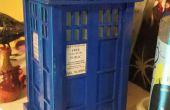 TARDIS madera balsa