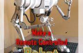 Hacer un Robot RC para una película de